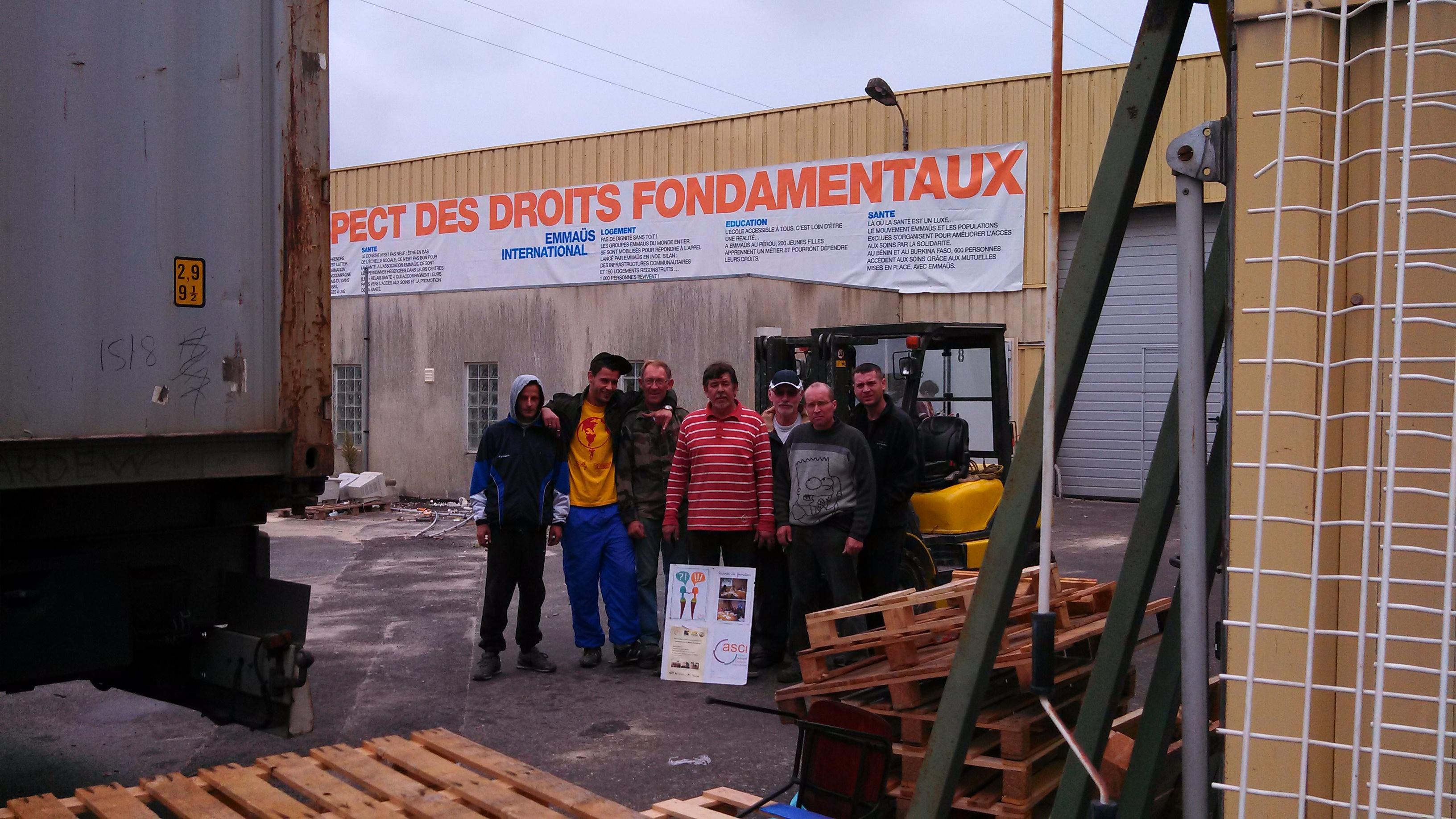 Fondation legallais acsi le container pour bohicon for Fondation pour maison container
